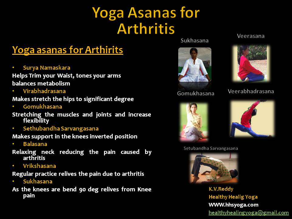 Yoga for Arthiritis